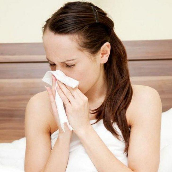 nysing og rennende nese